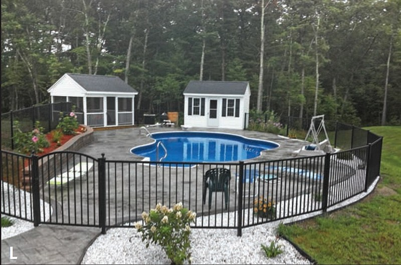 Swimming pool fences fencing safety enclosure marlborough ma arrow fence 508 485 3334 - Swimming pool fencing options consider ...